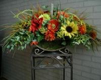 Корзина с цветами  ПК – 0005