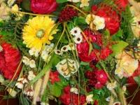 Корзина с цветами  ПК – 0007